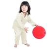 Beige Pijama Seda Niñas