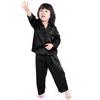 Black Girls Silk Pajamas