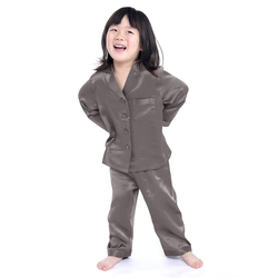 Girls Silk Pajamas