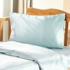 Pale Turquoise Silk Travel Pillowcase