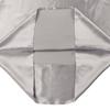 Silvergray Silk Travel Pillowcase