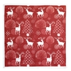 Abstract Forest  Silk Printing Handkerchief