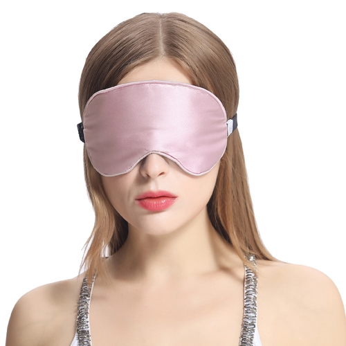Silk Sleep Eye Mask With Wide Elastic Band