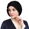 Black Silk Sleeping Cap