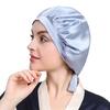 Blu chiaro Cappello da notte di seta