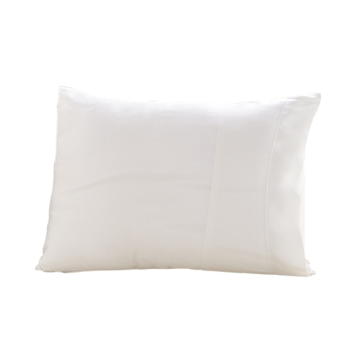 Ivory Silk Travel Pillow