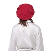 Claret Silk Sleeping Cap