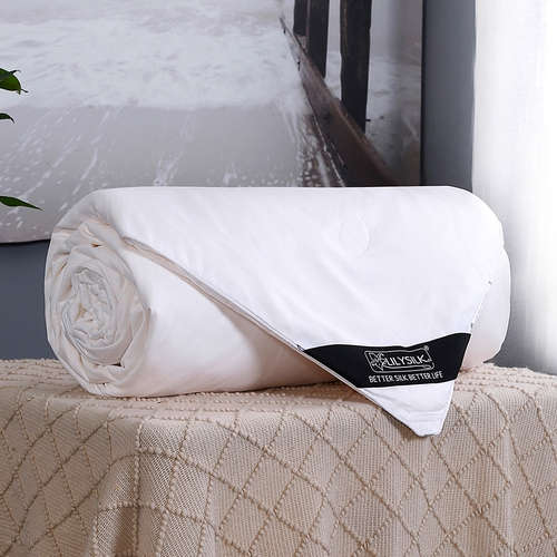 Summer Cotton Covered Silk Filled Duvet
