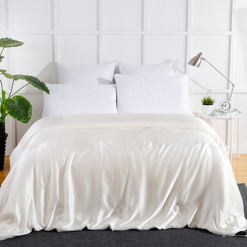 Summer Silk Covered Silk Doona