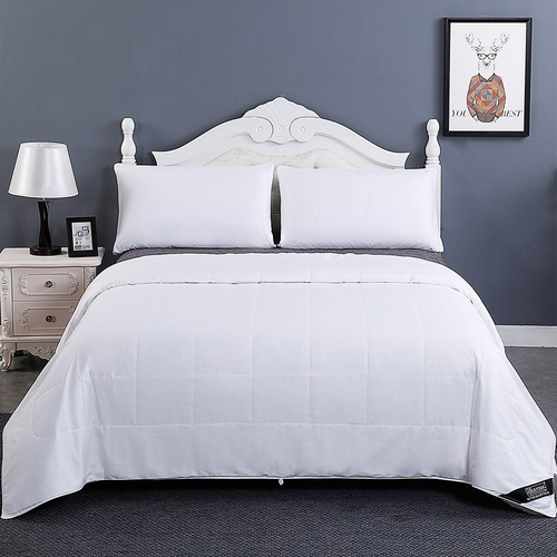 Washable Cotton Covered Silk Duvet