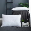 White Silk Lined Pillow