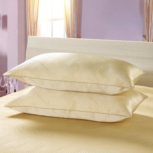 Soft Yellow Silk Pillow Sham