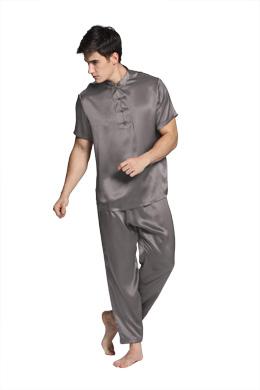 Herren Seide Pyjamas