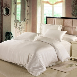 Seide Bettbezug