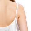 Lotus Weiß Damen Seide Nachthemd