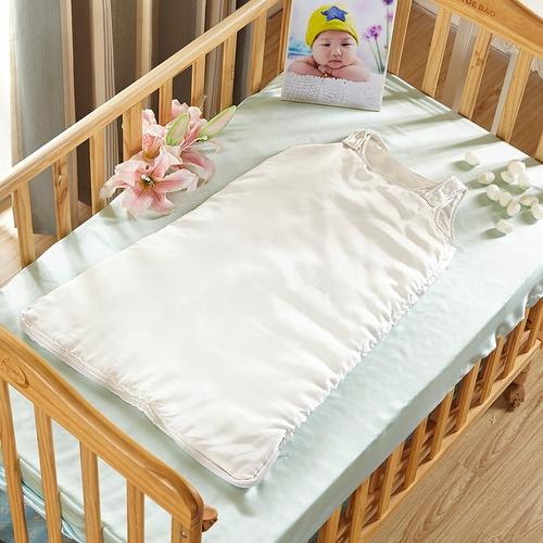 Elfenbein Baby Seide Schlafsack