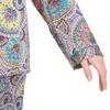 Blüte Muster Gelb & Grün Damen Seide Pyjamas