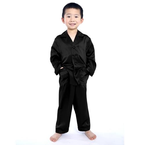 Weiß Junge Seide Pyjamas