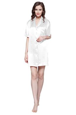 chemise de nuit et nuisette en soie femme lilysilk. Black Bedroom Furniture Sets. Home Design Ideas