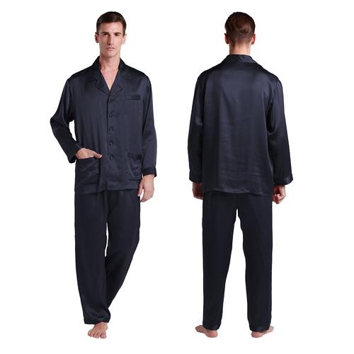 Violet Pyjama Homme Soie