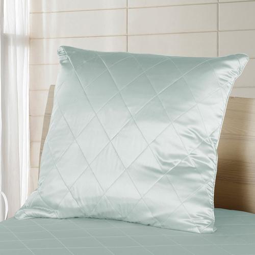 Turchese pallido Cuscino imbottitura di seta divano