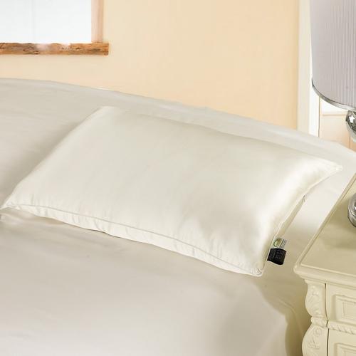 Bianco Cuscino di seta