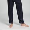 Bleu Marine Pyjama Homme Soie