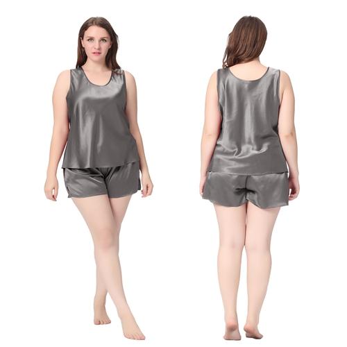 pyjashort forme d bardeur femme en soie 22 momme grande taille lilysilk. Black Bedroom Furniture Sets. Home Design Ideas