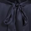 Blu-Marino Accappatoio di seta da donna