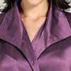 Violet Robe de Chambre Femme Soie