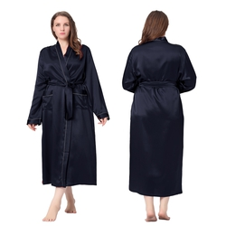 robe de chambre peignoir et d shabill en soie lilysilk. Black Bedroom Furniture Sets. Home Design Ideas