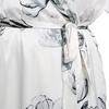 Loto Bianco Accappatoio di seta da donna