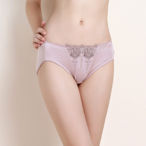 Rose Clair Shorty Soie