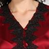 Violetto Rosso Pigiama da donna di seta