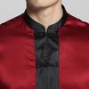 Rouge Vineux Pyjama Homme Soie