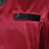 Violetto Rosso Pigiama di seta da uomo